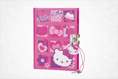 Hello Kitty Locking Diary Mosaic