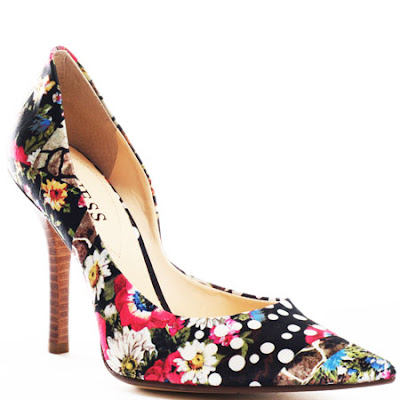 Carrie 10 - Black Multi Fab