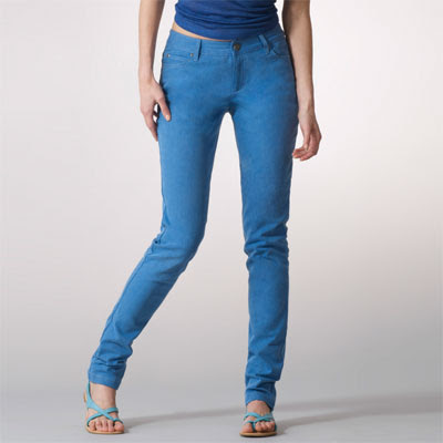Skinny jeans size stretch down