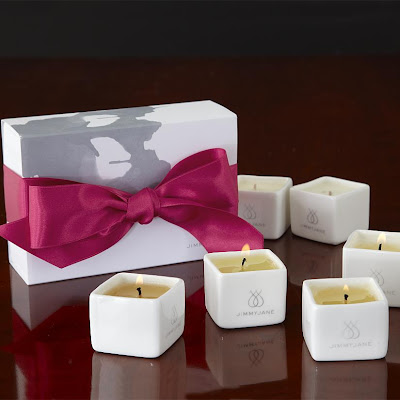 Massage candle set