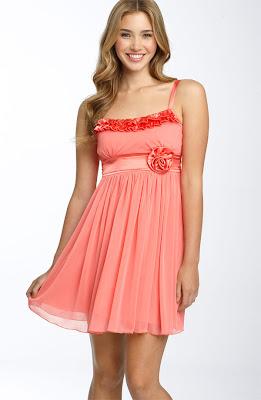 Teeze Me Ruffle Trim Party Dress