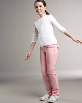 Julie Baby Pink Jeans