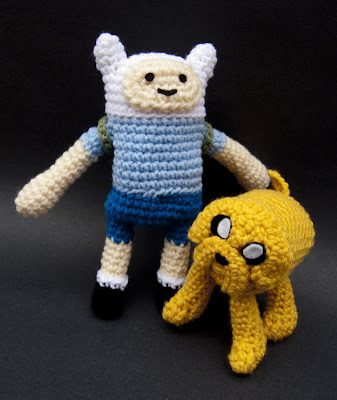 Super Punch: Adventure Time amigurumi (and more)