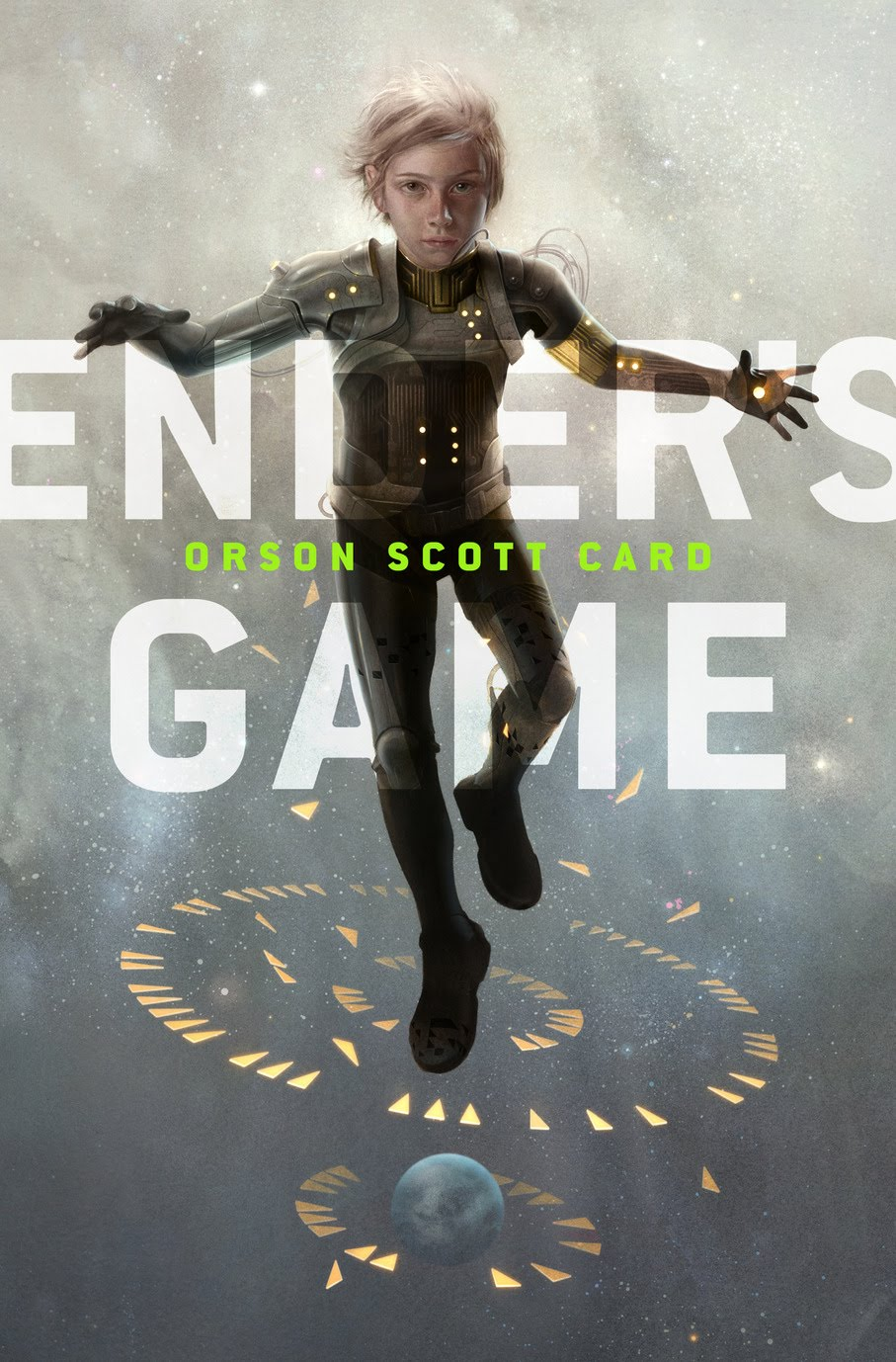 Ender's Game... a much cooler cover than my copy dammit!