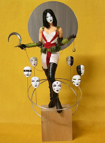 Kabuki and Jin-Roh dolls