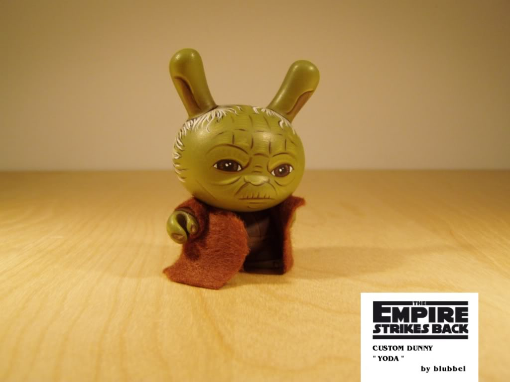 toycutter: Tauntaun Dunny (and