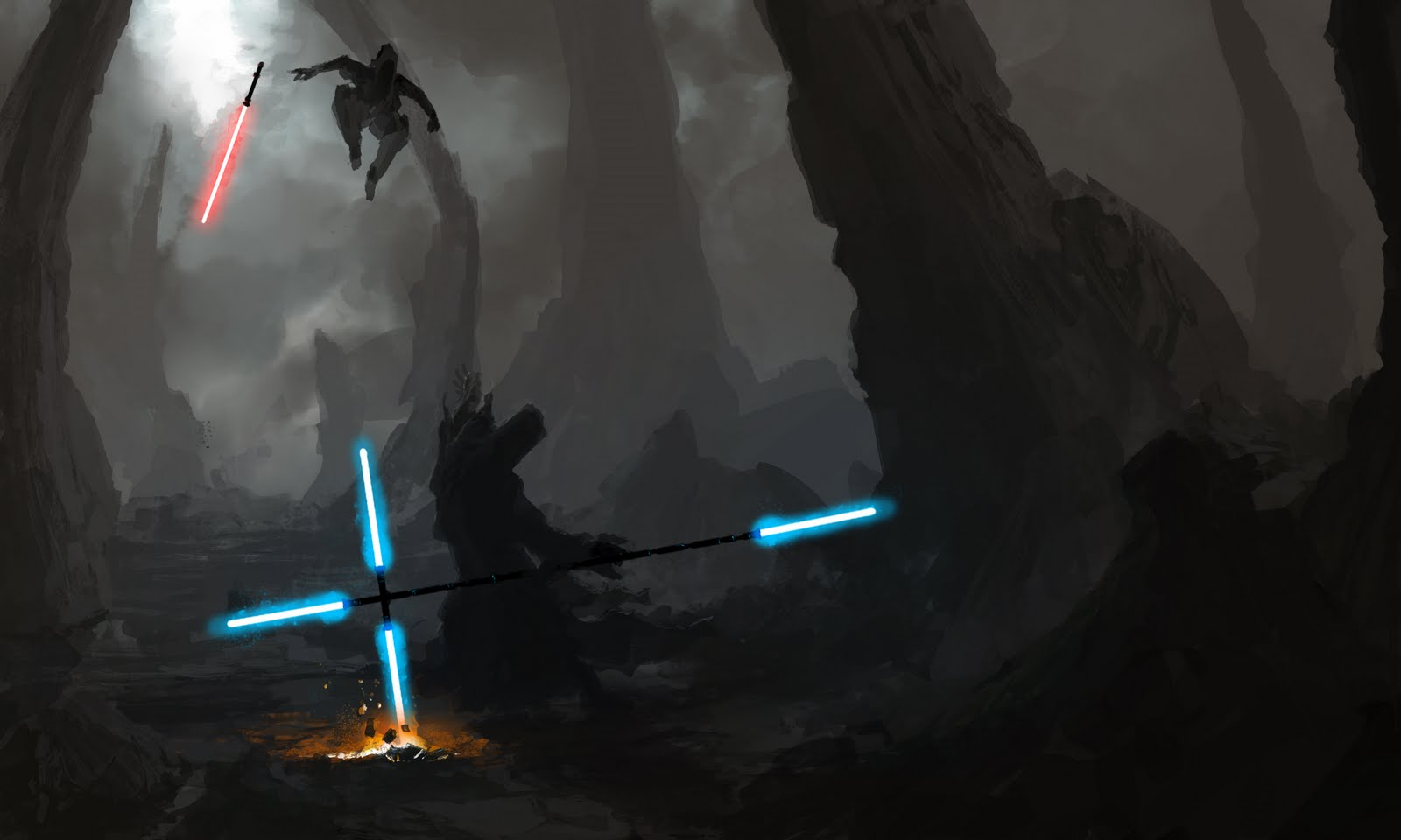 Jedi crusader by florian zenz