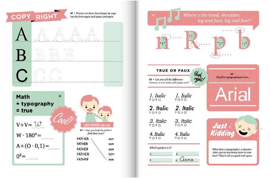 super punch hyperactive typography workbook