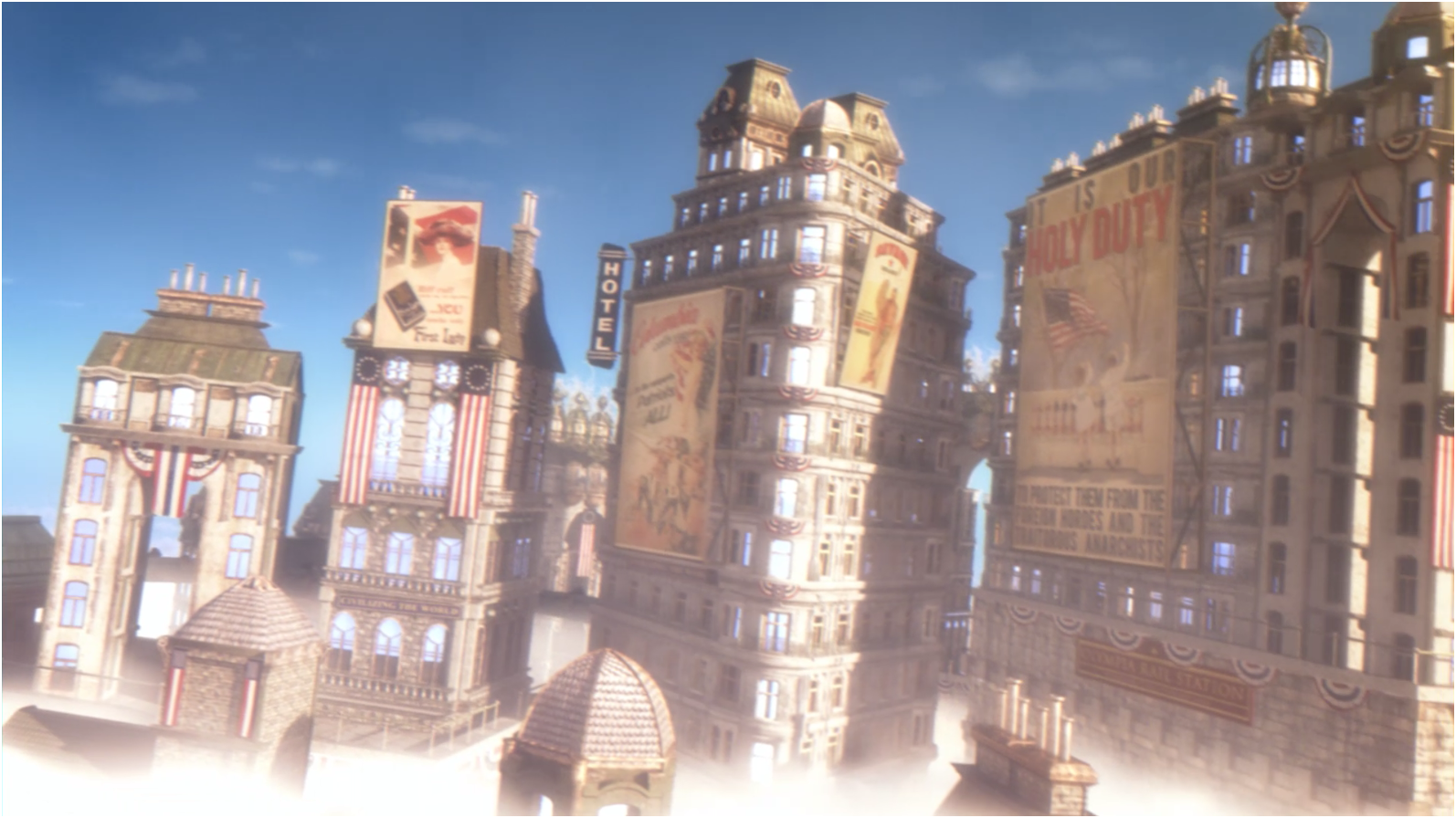 Bioshock Infinite HD & Widescreen Wallpaper 0.692746335632803
