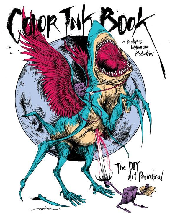 Super Punch: Color Ink Book