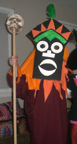Super Punch: Scooby-Doo Witch Doctor costume