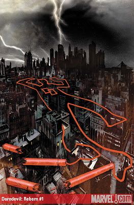 37 Daredevil  Reborn 1 The 72 Best Comic Book Covers of 2011