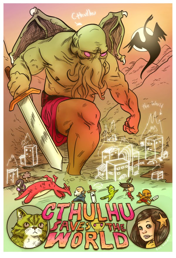 Cthulhu Saves the World!  (picture by Zac Gorman)
