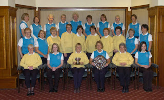 The Greenlees and Allander Teams from Milngavie Golf Club
