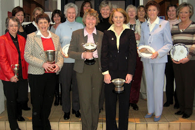 The Douglas Park Golf Club 2007 Main Prizewinners --- Click to enlarge