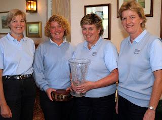 Mary Craig, Sarah Kirby, Rosemary Reedie and Anne Robinson
