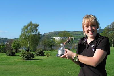 Megan Briggs -- the 2007 Rnfrewshire Ladies County Champion