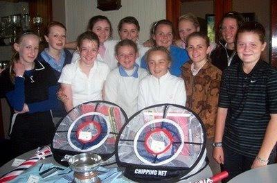 Group of Ayrshire Girl Winners