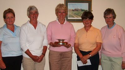 The Scottish Seniors Matchplay Prizewinners - Click to enlarge