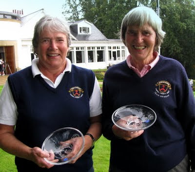 Mo Neilson and Elspeth Hanlon -- Winners of the Centenaery Shotgun