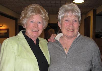 Pat Walker and Sheila Goudie