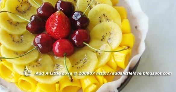 Megic Ingredients: Green Tea Red Bean Mousse Cake