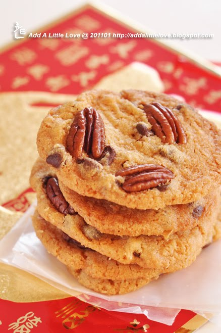 Chocolate Pecans Cookies