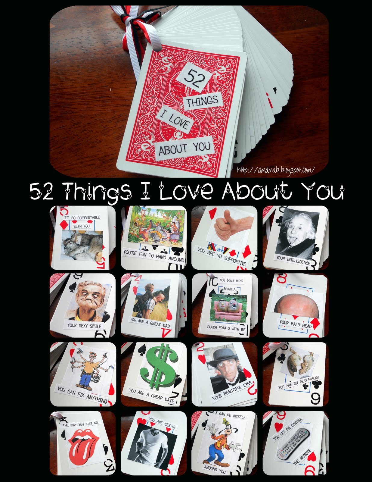 A Mama Bs: 52 Things I Love About You