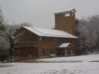 モリコロパークは雪景色!