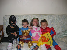 Halloween 2007 with the cousins