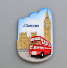 Sales FM Oversea - London Bus With Big Ben (3 pcs)