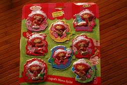 Strawberry Shortcakes Fridge Magnet