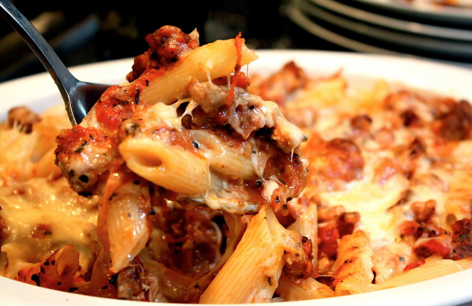 pound penne rigate pasta (I used an organic durum semolina)