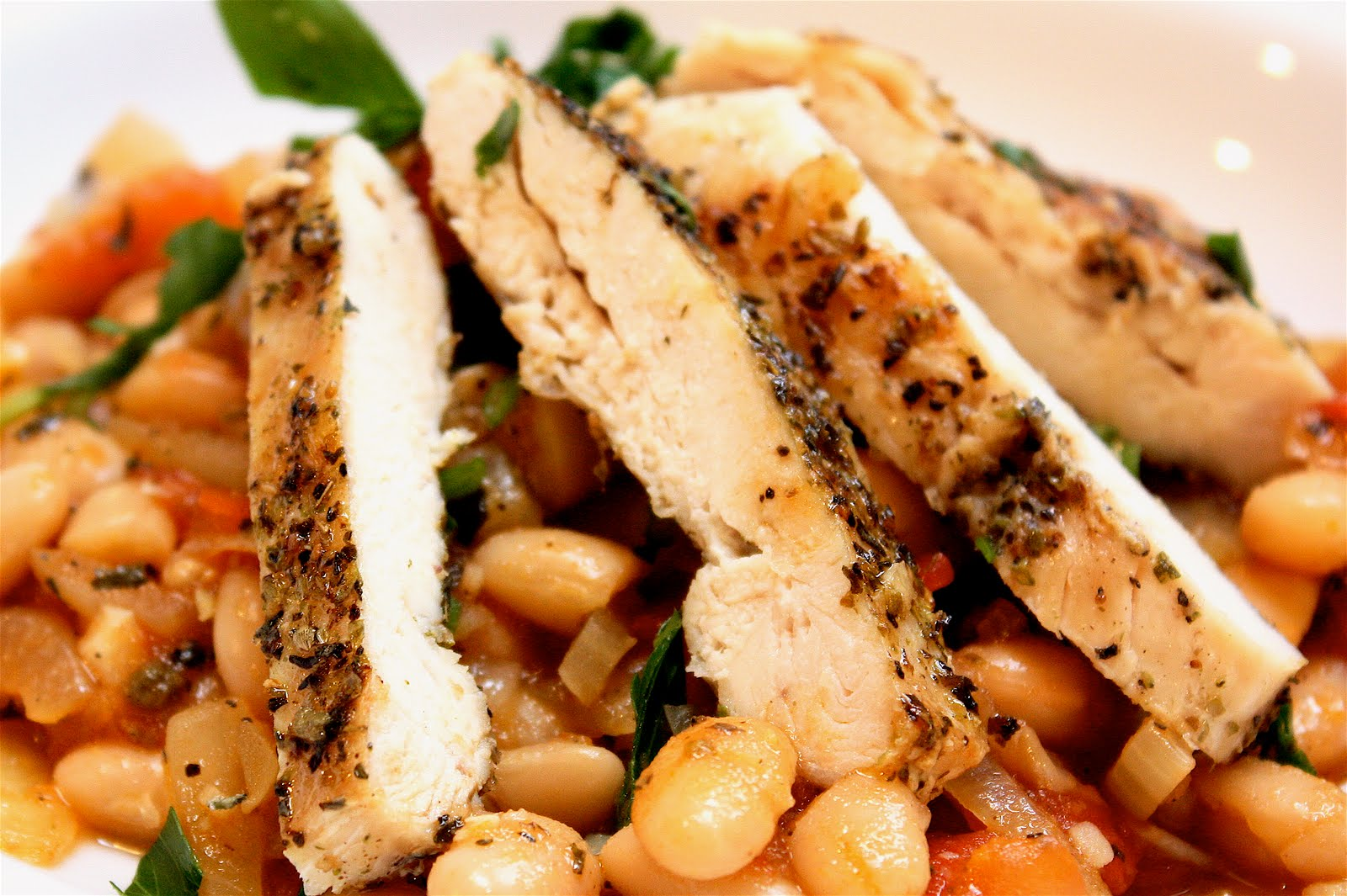 savory nest: Easy Tuscan Beans