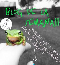 Blog de la semana!!