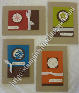 Hole in the middle Cards - Stamp n Stack