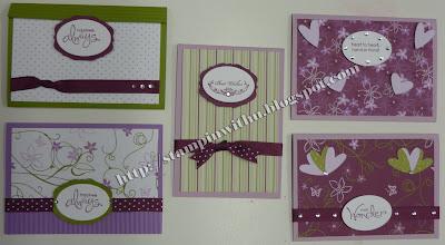 Cottage Wall Workshop Cards - Variations