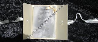 Inside the Elegant Gold Invites