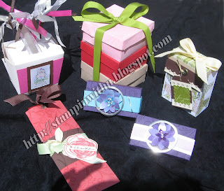 Some Examples of Wedding Bonbonniere Boxes