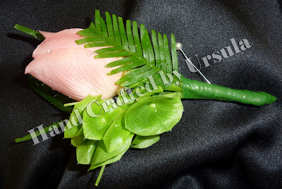 May Wedding Flowers - Grooms Buttonhole