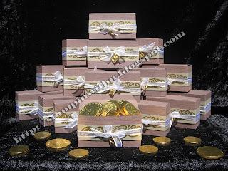 Treasure Chest Wedding Bonbonneries