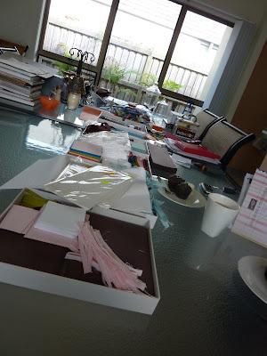 Project bits for Fresh Inspiration PaperANGELS Event Preparation
