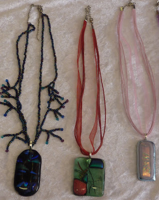 Dichroic Glass Pendants Pic 4