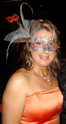 Councillor Lisa Bradly at Mayor's Masquerade Ball