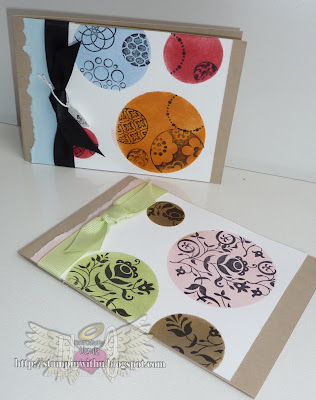 Circles Die Cut - Stencil Cards