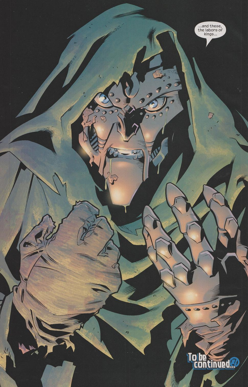 Question  Why would Marvel decide to overhaul the origin of Dr  Doom    Ultimate Fantastic Four Dr Doom