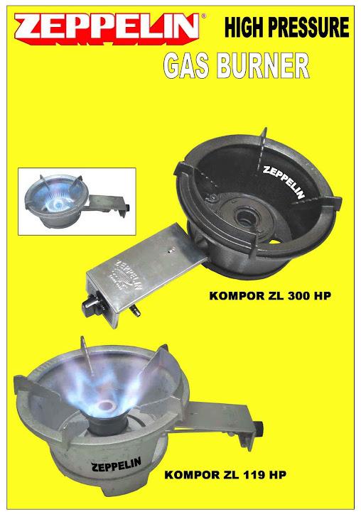 Kompor Gas ZEPPELIN ZL-300HP & ZL-110HP