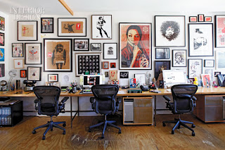 Interior Design Magazines on What A Hip Space To Have While Working The Day Job  Lovin  That Jimi