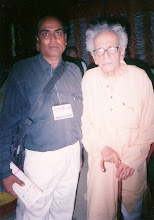 रंगयोद्धा हबीब तनवीर के साथ...