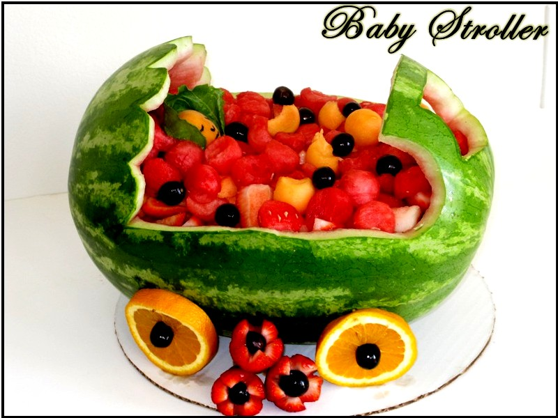 Kavya s kitchen watermelon carving